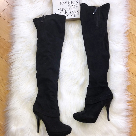 7e3dab04e91 Guess Shoes - GUESS MARCIANO OVER THE KNEE Thigh HIGH 6 BOOTS